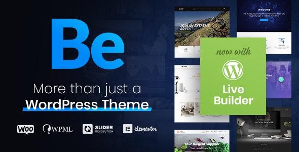Betheme Free download WordPress theme