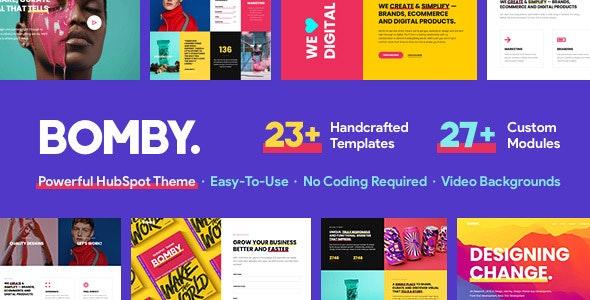 bomby-HubSpot CMS Hub Themes
