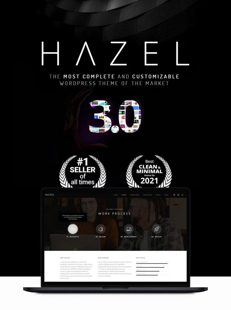 Hazel-wordpress-theme