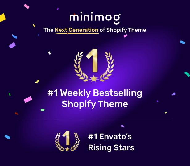Minimog The Next Generation Shopify Theme